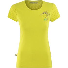 E9 Mora - Camiseta manga corta Mujer - amarillo